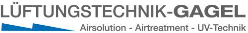 Lüftungstechnik Gagel – Airsolution, Airtreatment, UV-Technik, UV-Küchenabluft, Abluftreinigung, Küchentechnik, Wärmerückgewinnung, UVC-Ozon Logo